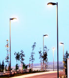Q345 S355 de la columna de Iluminación Iluminación Vial