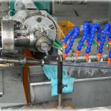 Gx-Rh65 TUYAU EN PVC renforcé de fibre de plastique extrudeuse du tube