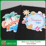 Qingyiの最もよい価格の印刷できる薄い色の熱伝達の印刷紙