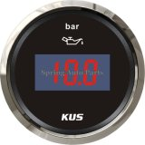 "2 "" 52mm DEL Digital Oil Pressure Gauge 0-10 Bar avec Backlight"