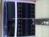 GPS WiFi Lojack VHF-UHF/RF Remote Control 315/433MHz Blocker 또는 Cellphone 2g 34G 4G Jammer를 위한 모든 Frequency Desktop Jammer