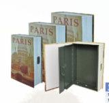 Serrure à clé secrète de dictionnaire d'un coffre de la forme de livre la boîte de rangement combinaison