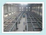 La luz de almacén de la estructura de acero prefabricados prefabricados / TALLER / almacenamiento / Edificio garaje /