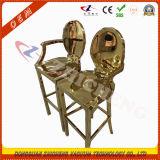 Machine à vide plaqué or en laiton