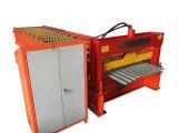 Feuille de couleur acier tuile de toit ondulé machine à profiler de panneau