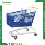Plastikeinkaufen-Laufkatze des Supermarkt-180L