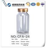 HDPE/Pet/PE Plastikmedizin-Kapsel-Pille-Flasche mit Dichtung