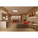 Moderno hotel Wyndham Microtel laminada conjuntos de Mobiliário de quarto de hotel