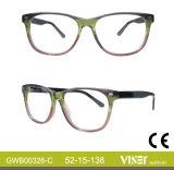 Frames van de Glazen van de Frames van het Ontwerp van Italië de In het groot Optische (326-a)