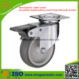 Light Duty Swivel TPR Roda de roda