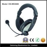 Stereo eccellente Big Headphone con il Mic (OS-WD2688)