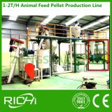 pequeño equipo del molino de alimentación 1-2t/H usado para la granja avícola