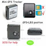 Sos 단추 V8s를 가진 휴대용 소형 GPS 추적자