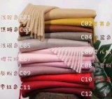 冬Wj10301013の女性のカシミヤ織のウールのスカーフの新式の卸売