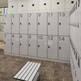 La feuille en stratifié de HPL imperméabilisent le casier de 3 portes