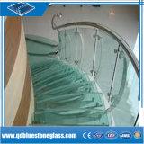 стекло ясности обеспеченностью 3+3/4+4/5+5/6+6mm прокатанное для здания ванной комнаты