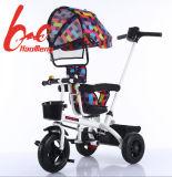 2017 طفلة درّاجة ثلاثية مزح [سترولّر] درّاجة ثلاثية مع مظلة