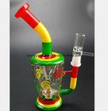 """De nieuwe Rokende Pijp van het Glas van het Proces van de """"Waterpijp van Filter 8.27"""