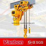 gru Chain elettrica dell'altezza libera bassa 5ton utilizzata nel sollevamento dello spazio di Limitted