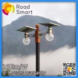 리튬 건전지를 가진 통합 무선 방수 태양 LED 정원 빛