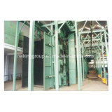 Stahlkonstruktion-Säubern populär in der China-Granaliengebläse-Maschine