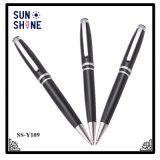 Crayon lecteur promotionnel chaud en métal de papeterie de stylo bille d'OEM de vente