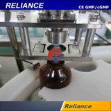 Máquina de relleno y que capsula de la botella de cristal del líquido veterinario estéril de la inyección