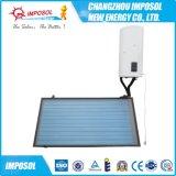 Chapa lisa aquecedor solar de água compacto populares