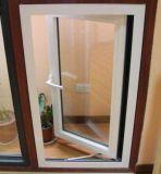 Качание открытое пеет листьям алюминиевое окно Casement (ACW-054)