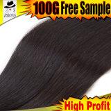 O melhor cabelo natural brasileiro de Goodliness 613#Virgin da qualidade