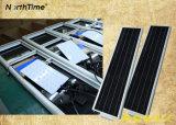 Le tout dans une batterie au lithium Lampe LED de puissance solaire rue