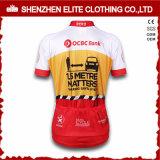 2016 PRO Teams Sublimation imprimé à manches courtes Jersey de cyclisme Femmes