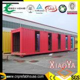Bonito diseño prefabricados casas contenedor de envío (XYJ-01)