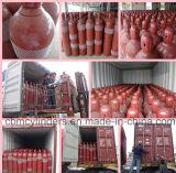 Bombole per gas d'acciaio ad alta pressione del CO2 40L