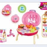 2018 Novo fingir crianças cozinha brinquedos brinquedos de crianças populares de cozinha e best-seller crianças bricolage cozinha brinquedos de madeira