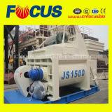 Beton механизма заслонки смешения воздушных потоков, Js1500 Двойной вал конкретные заслонки смешения воздушных потоков от 75-90м3/ч