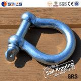 ヨーロッパのタイプ大きい弓安全によって通されるPinクレーン手錠