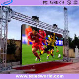 Pantalla P6 SMD color al aire libre Alquiler llena en movimiento LED (CE)