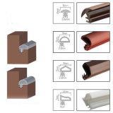 Tipo de slot de fita de vedação em clima de porta de madeira