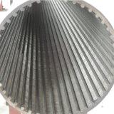 Edelstahl-Keil-Draht-Filtrationsschirm-Rohr