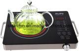 Fornello di ceramica infrarosso caldo del POT 2000W della fornace di ceramica a comando a tocco di EGO del sensore del corpo dell'acciaio inossidabile degli apparecchi di cucina