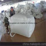 Un sac enorme du conteneur pp FIBC de tonne pour le sable, matériau de construction, produit chimique, engrais, farine, sucre avec le prix usine