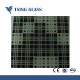 3-12 mm Serigrafía vidrio templado para el electrodoméstico o la decoración/edificio
