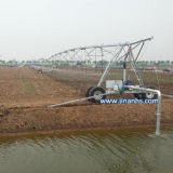 Máquina de riego agrícola