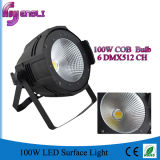 100W COB LED PAR Surface Stage Lighting para estúdio (HL-026)