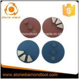 3 дюймов до главного конкретные шлифовки металлических Бонд Diamond