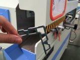 Il taglio di CNC di tasto dell'angolo del blocco per grafici di finestra di alluminio ha veduto