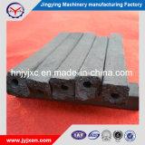 Carbone di legna di legno duro della mattonella del nero di prezzi di fabbrica per il BBQ