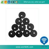 S50 de alta frecuencia PPS lavable NFC RFID Etiqueta de servicio de lavandería