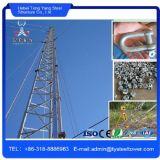 Torre del cedazo de Guyed de la torre de comunicación de la señal de Tengyang